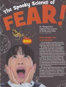 Spooky Science of Fear